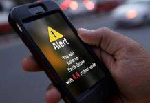 Smartphone app che prevede i terremoti