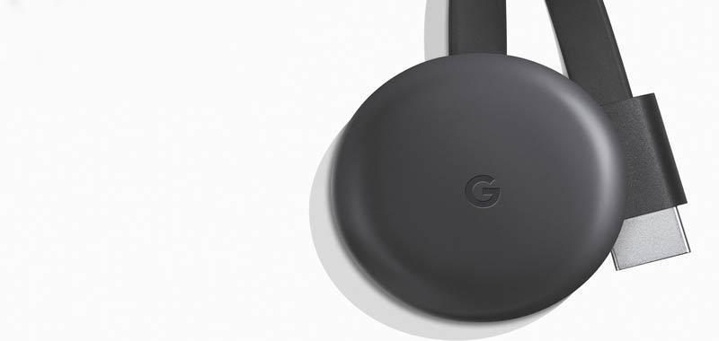 Il nuovo Chromecast: due pulsanti Netflix e Youtube
