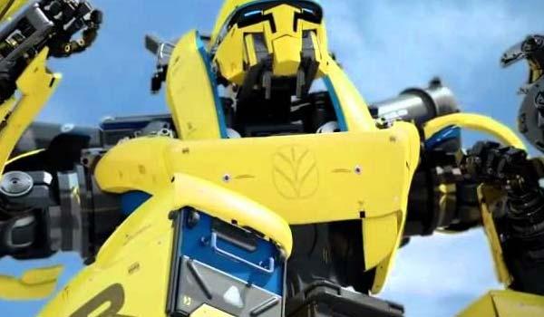 Il trattore robot completamente automatico
