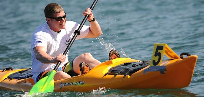 Kayak un modo divertente per spostarsi in acqua