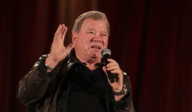 William Shatner affascinato ma preoccupato dalla realta virtuale
